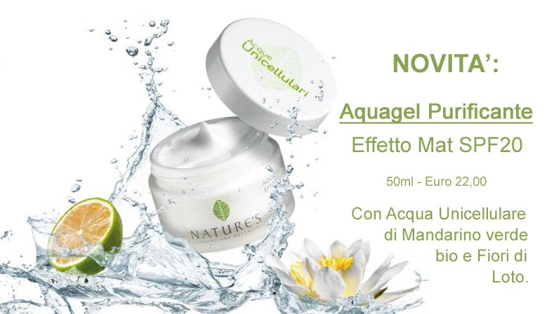 Aquagel Purificante Effetto Mat SPF20